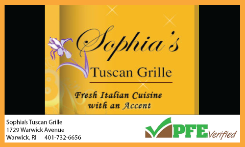 Sophia's Tuscan Grille
